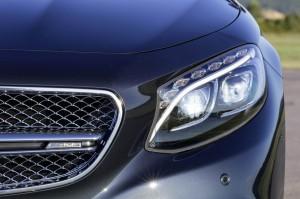 calandre feux avant Mercedes-Benz S 65 AMG Coupe 2014