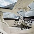 cuir beige interieur Mercedes-Benz S 65 AMG Coupe 2014