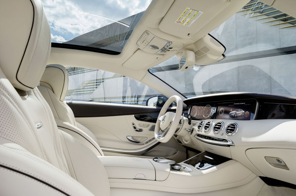 Mercedes benz s 65 amg coupe 2014 blog auto s lection for Interieur de voiture en cuir