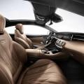 interieur avant habitacle Mercedes-Benz S 65 AMG Coupe 2014