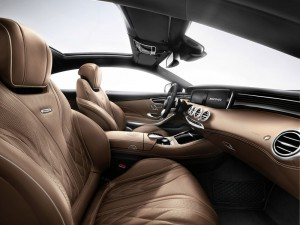 interieur avant habitacle Mercedes-Benz S 65 AMG Coupe 2014