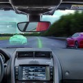 The Virtual Windscreen : Jaguar cr�e le premier pare brise du futur !