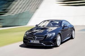 Mercedes-Benz S 65 AMG Coupe 2014 sur route