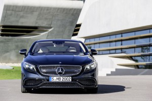 face avant Mercedes-Benz S 65 AMG Coupe 2014