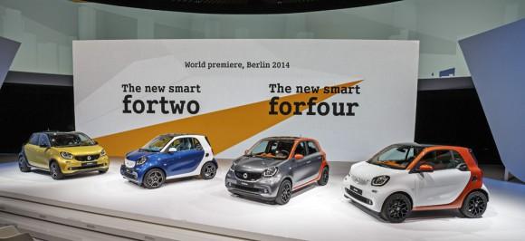 Nouvelle Gamme Smart 2014