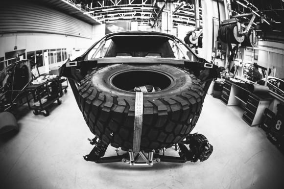 Peugeot 2008 DKR pneus