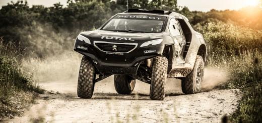 Peugeot 2008 DKR dakar 2015