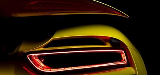 Porsche 918 feux arrière