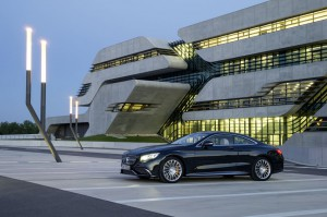 profil Mercedes-Benz S 65 AMG Coupe 2014