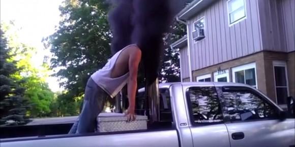 Rolling Coal smoke