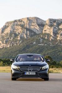 avant Mercedes-Benz S 65 AMG Coupe 2014