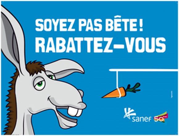 campagne sensibilisation Sanef