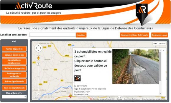 Site Activ Route