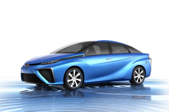 Toyota FCV voiture pile