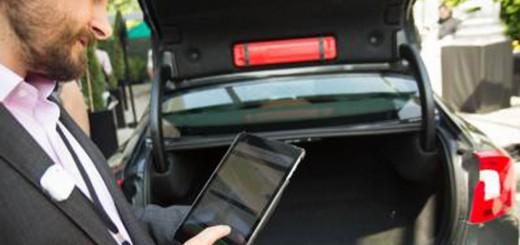 Volvo application livraison coffre