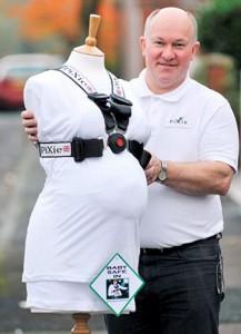 pixie harness la ceinture de s curit pour femmes enceintes. Black Bedroom Furniture Sets. Home Design Ideas