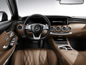 volant commandes Mercedes-Benz S 65 AMG Coupe 2014