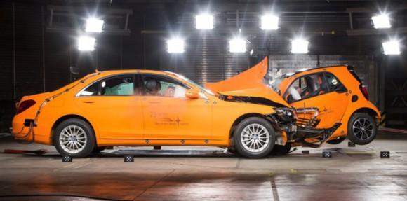 crash test classe S Smart ForTwo