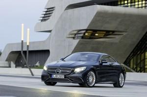 vue avant Mercedes-Benz S 65 AMG Coupe 2014