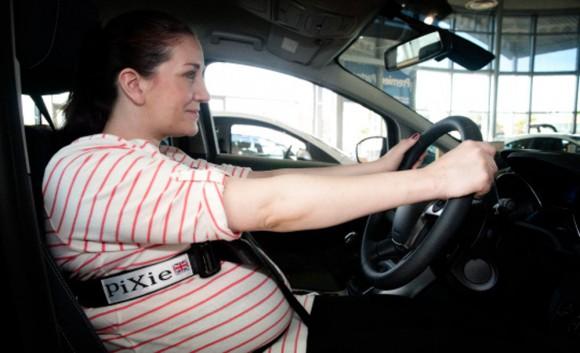 femme enceinte ceinture sécurité Pixie Harness