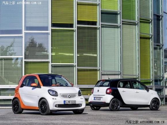 smart forfour 3e generation