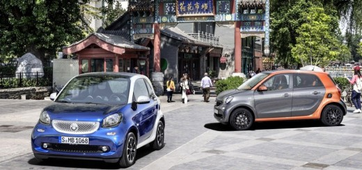 Smart Forfour et Fortwo 2014