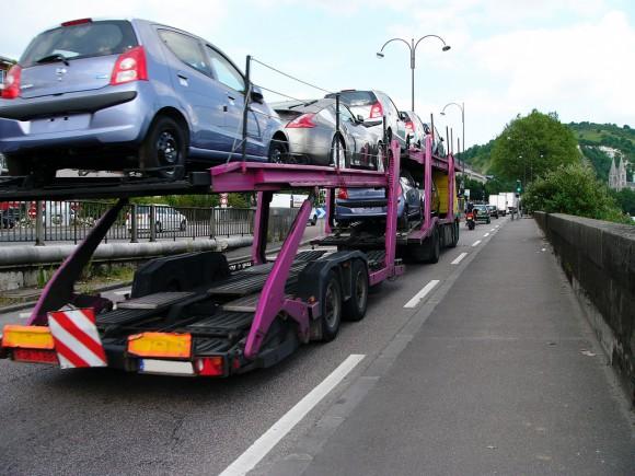 transport voiture neuve