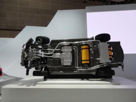 voiture pile FCV Toyota