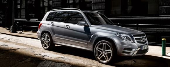 Mercedes GLK SUV 2014
