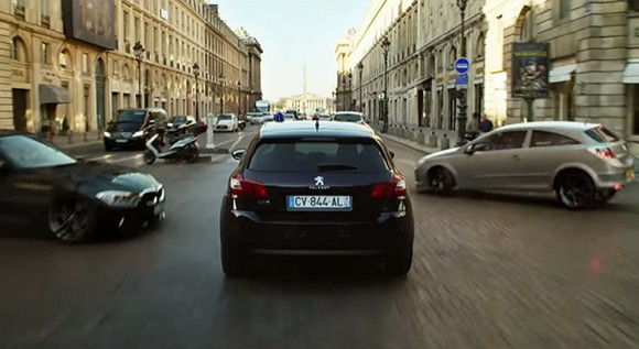 Peugeot 308 film Lucy Besson
