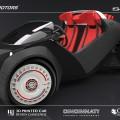 Strati est la 1ère voiture intégralement imprimée en 3D