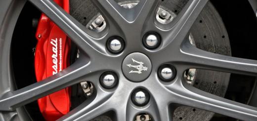 Système de freinage sur Maserati