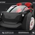 Le Strati est un petit véhicule électrique doté du moteur de la Renault Twizy