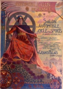 Salon automobile à Paris 1901 Automobile Club de France