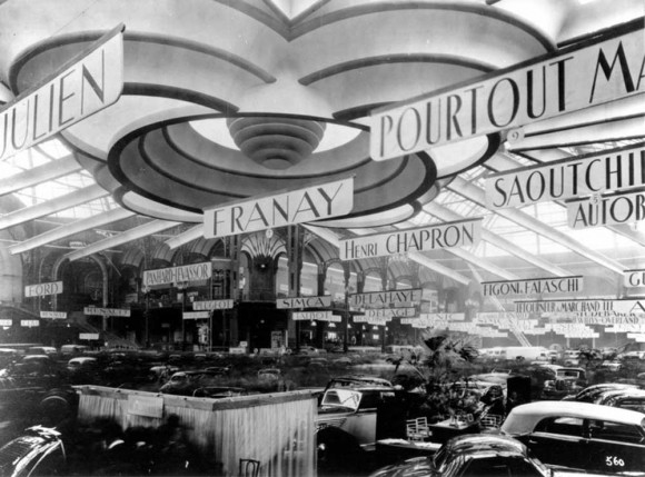 Salon de L'Automobile Paris 1946