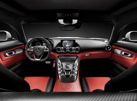 Mercedes-AMG GT interieur