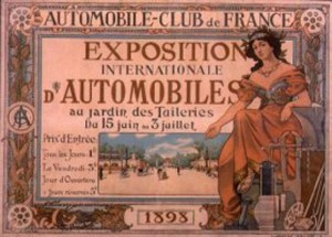 salon automobile 1898 Automobile Club France