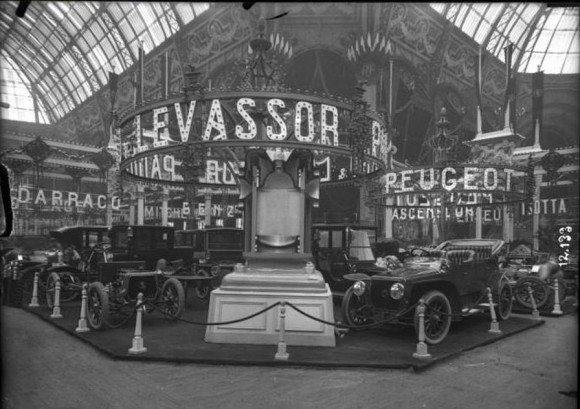 salon de l'automobile 1910