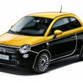 Fiat 500 Couture, la Comics