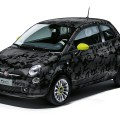 Fiat 500 Couture, la Camouflage