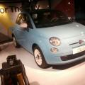 La nouvelle Fiat 500 bleu ciel