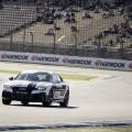 Audi RS7 piloted driving : en piste sur le circuit de Hockenheim