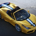 Nouvelle Ferrari 458 Speciale A : puissance au grand air