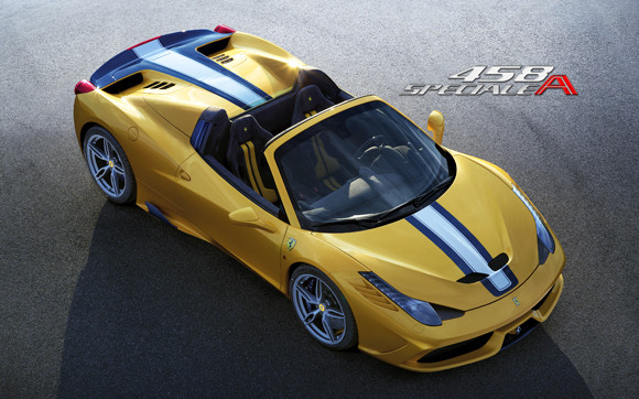 ferrari 458 speciale A mondial auto paris