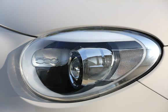 Fiat 500X feux optique avant