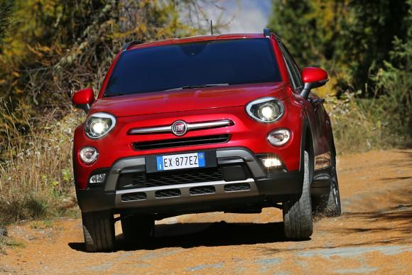 Fiat 500X 4X4 tout terrain