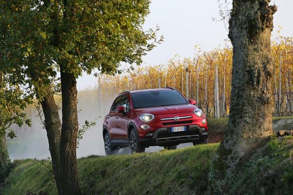 Fiat 500X 4X4 mouvement