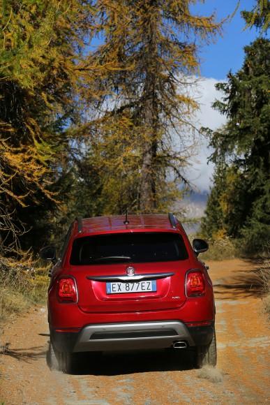 Fiat 500X 4X4 face arriere