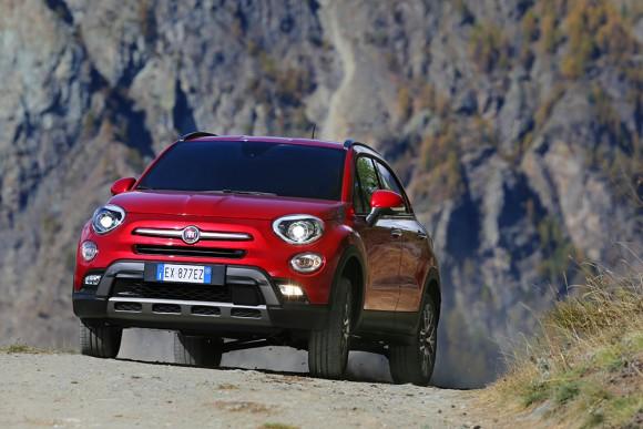 Fiat 500X 4X4 terrain