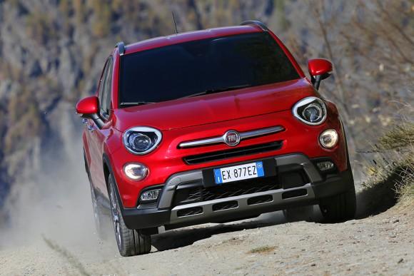 Fiat 500X 4X4 face avant